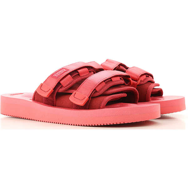 Suicoke Sandals for Men On Sale Red DK - GOOFASH - Mens SANDALS