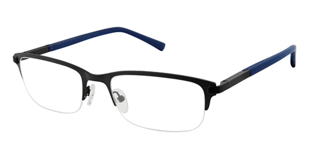 Ted Baker B 360 Eyeglasses Blue Black USA - GOOFASH - Mens SUNGLASSES