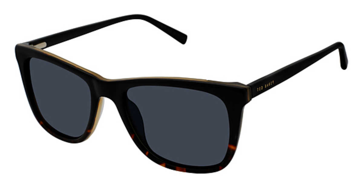 Ted Baker TBM 024 Sunglasses Black Tortoise USA - GOOFASH - Mens SUNGLASSES