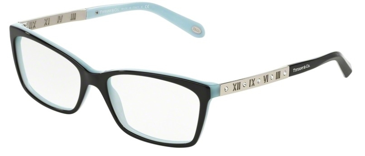 Tiffany TF 2103B Eyeglasses Black/Blue USA - GOOFASH - Womens SUNGLASSES