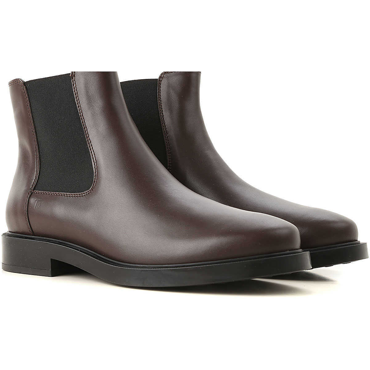 Tods Chelsea Boots for Women On Sale in Outlet Chocolate Brown DK - GOOFASH - Womens BOOTS