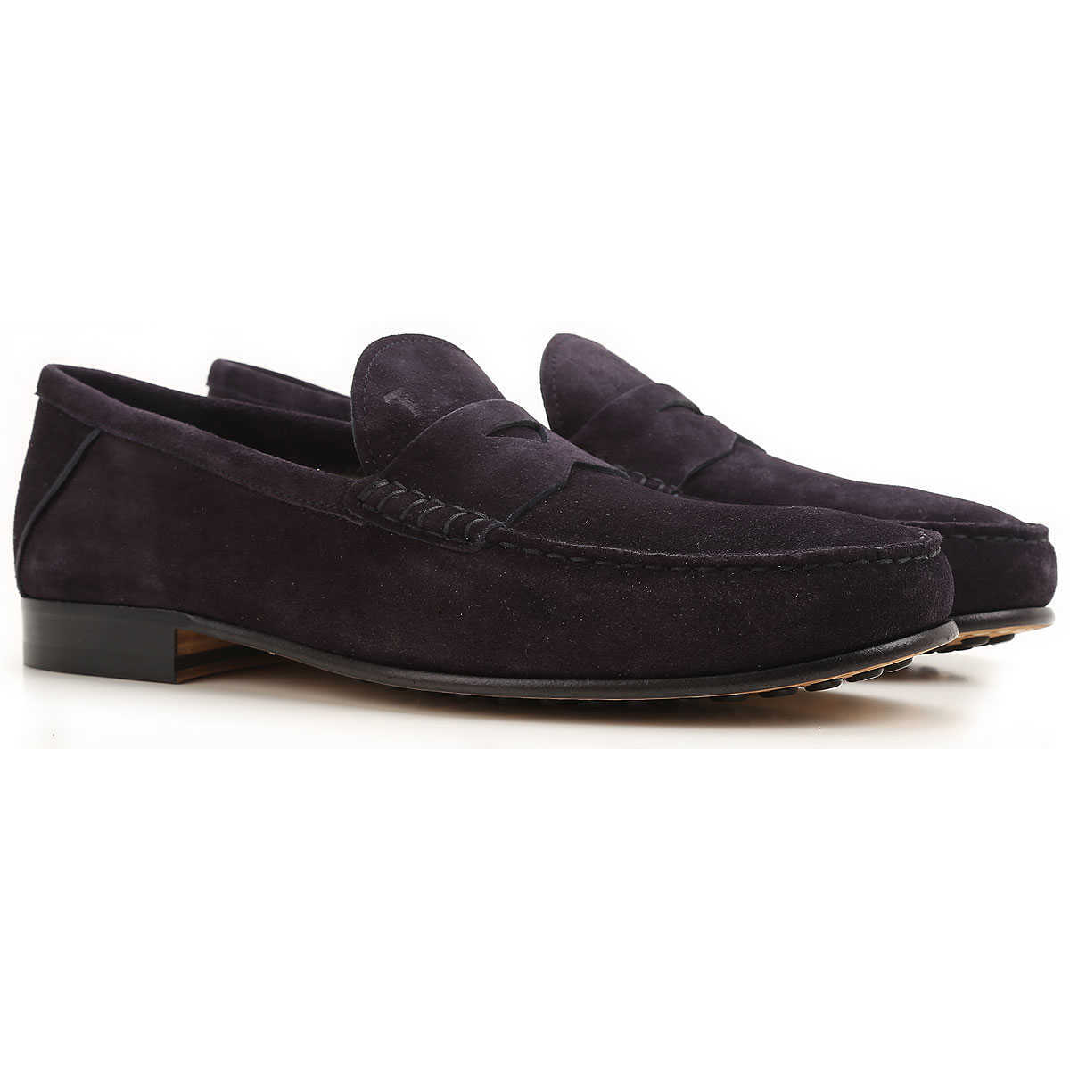 Tods Loafers for Men Dark Galaxy blue DK - GOOFASH - Mens LOAFERS