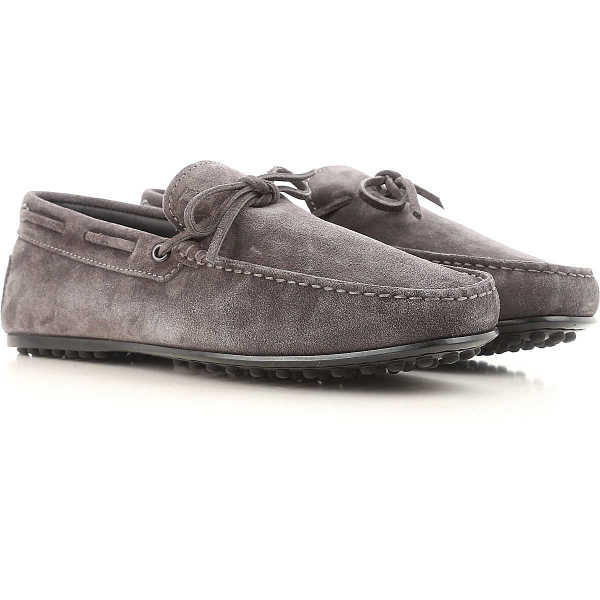 Tods Loafers for Men On Sale Ash Grey DK - GOOFASH - Mens LOAFERS