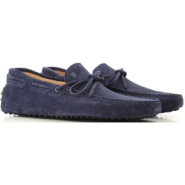 Tods Loafers for Men galaxy blue DK - GOOFASH - Mens LOAFERS