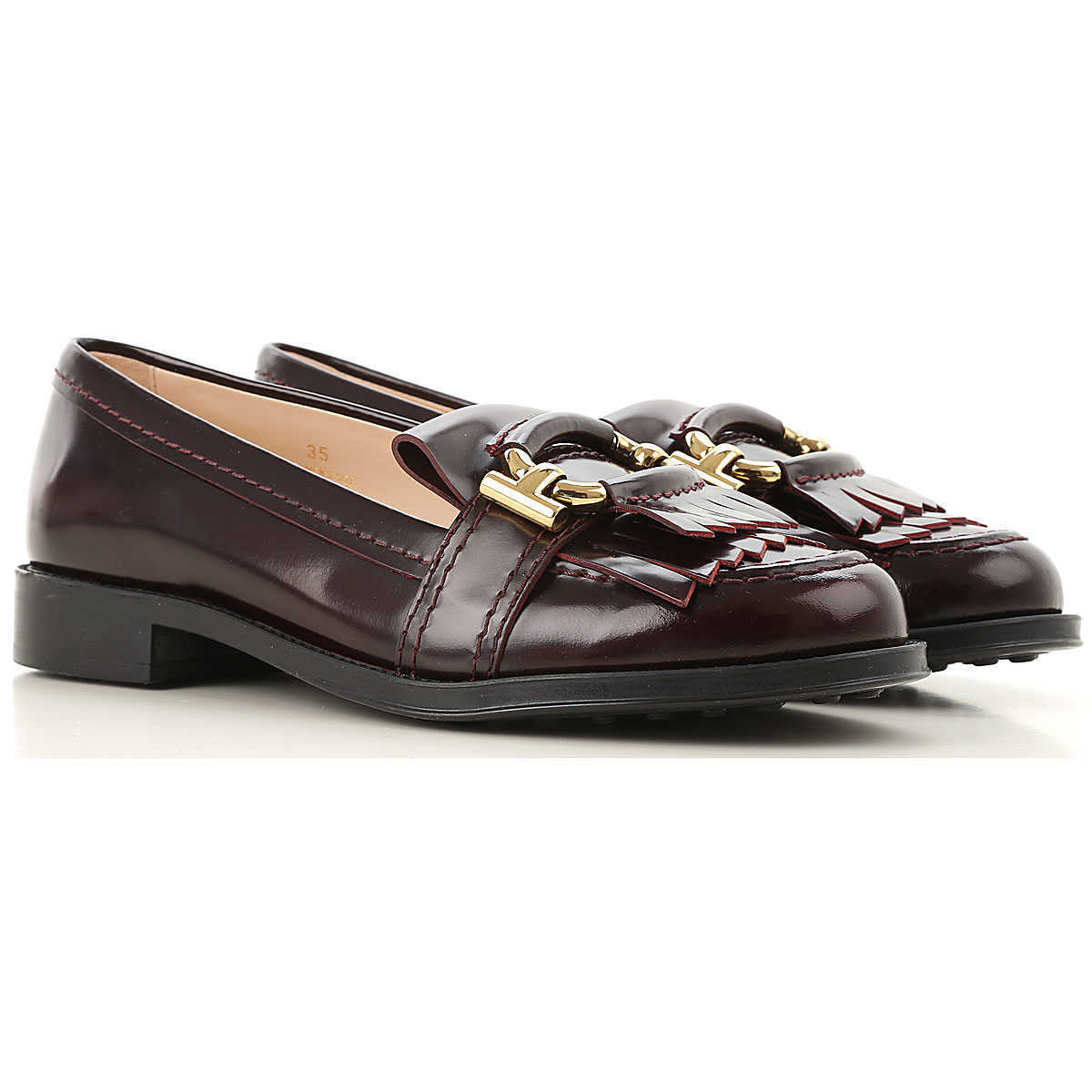 Tods Loafers for Women On Sale Must DK - GOOFASH - Womens FLAT SHOES