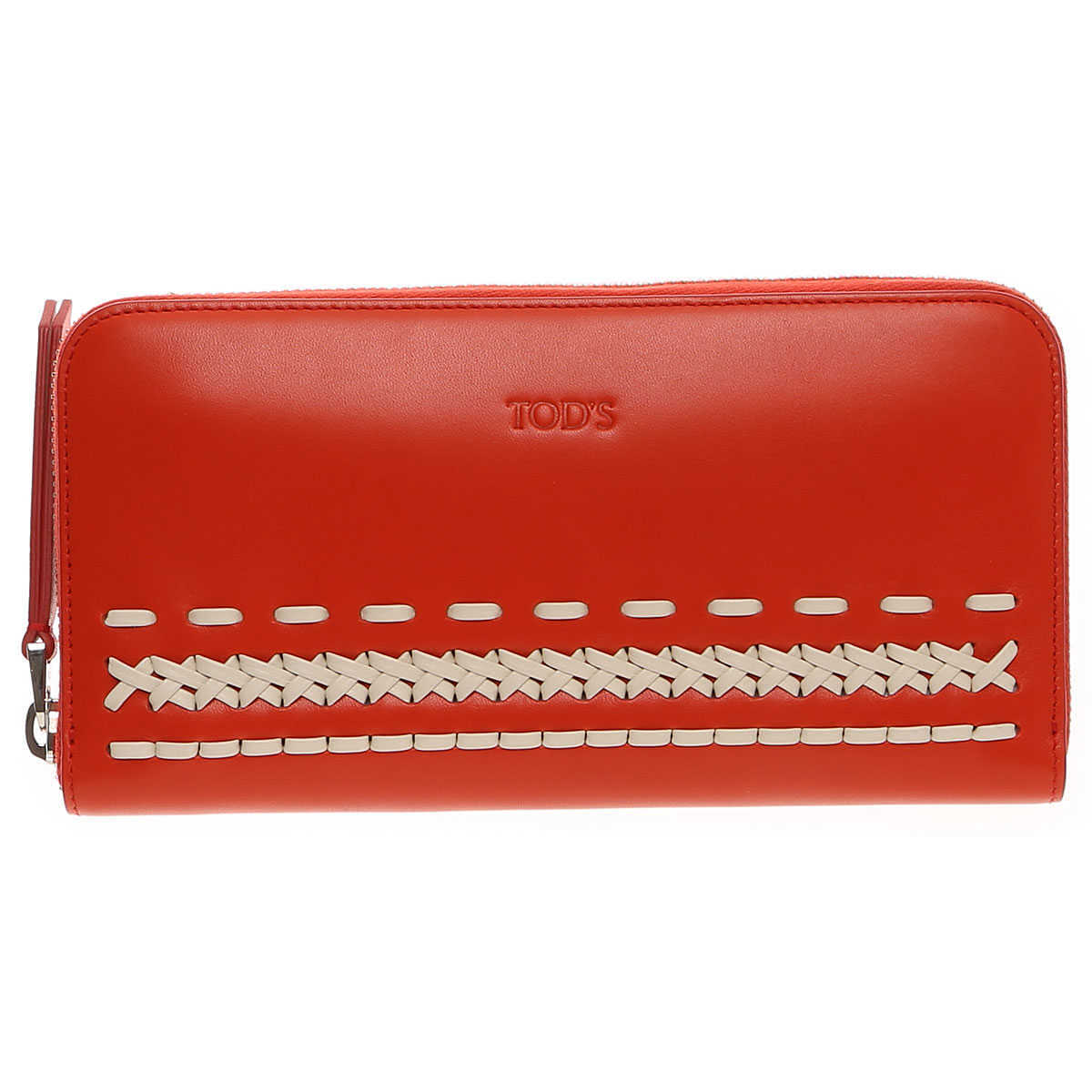 Tods Wallet for Women On Sale Red DK - GOOFASH - Womens WALLETS