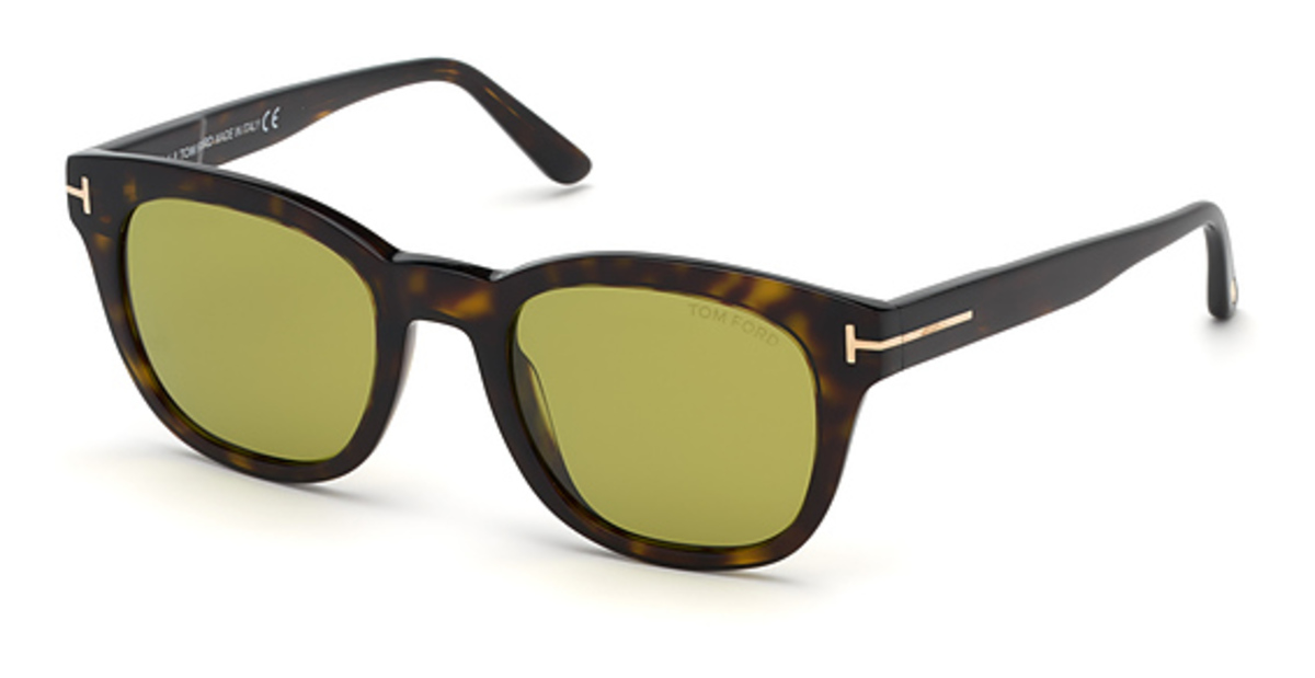 Tom Ford FT 0676-F Sunglasses Dark Havana USA - GOOFASH - Mens SUNGLASSES