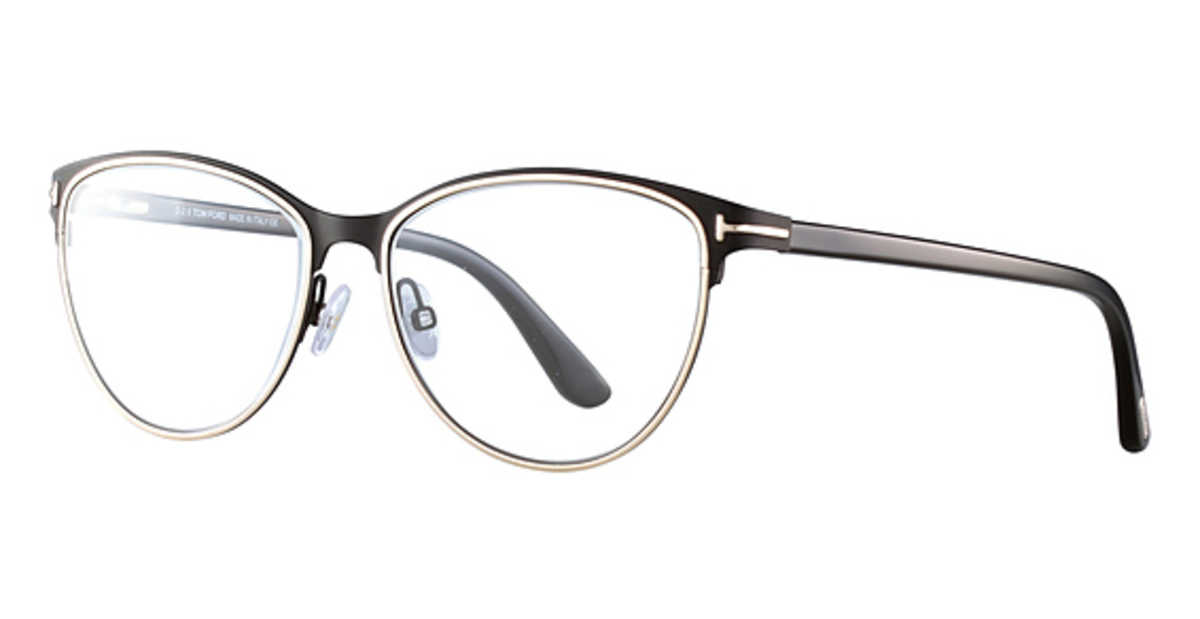 Tom Ford FT 5420 Eyeglasses Black/Other USA - GOOFASH - Womens SUNGLASSES