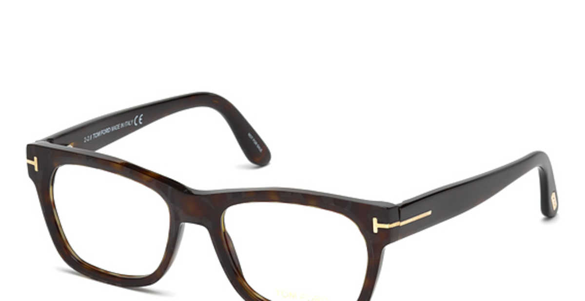 Tom Ford FT 5468 Eyeglasses Dark Havana USA - GOOFASH - Mens SUNGLASSES