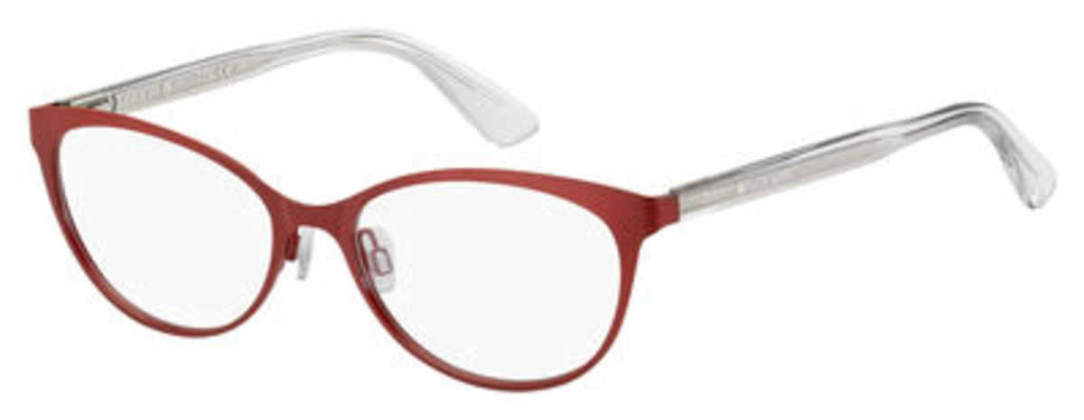 Tommy Hilfiger Th 1554 Eyeglasses Red USA - GOOFASH - Womens SUNGLASSES