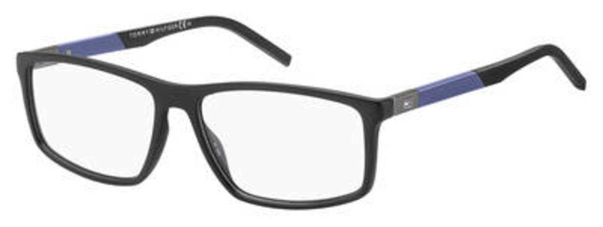 Tommy Hilfiger Th 1638 Eyeglasses Matte Black USA - GOOFASH - Mens SUNGLASSES