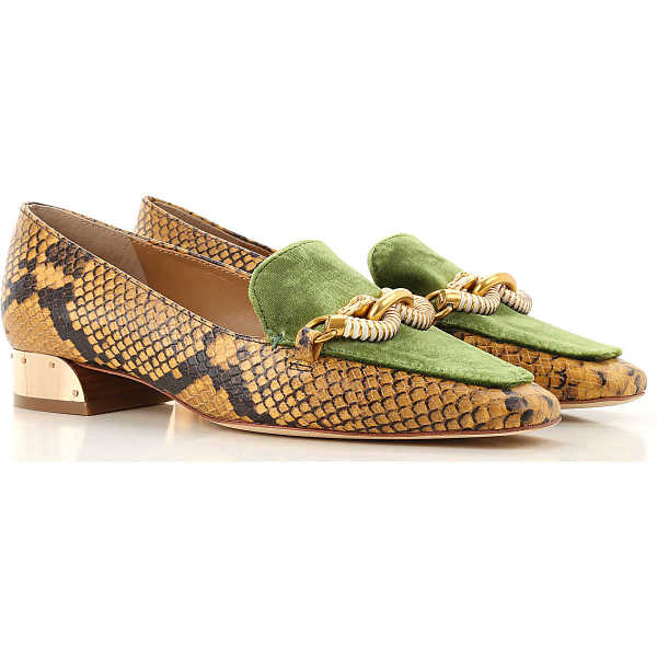 Tory Burch Loafers for Women Gold Crest DK - GOOFASH - Womens FLAT SHOES