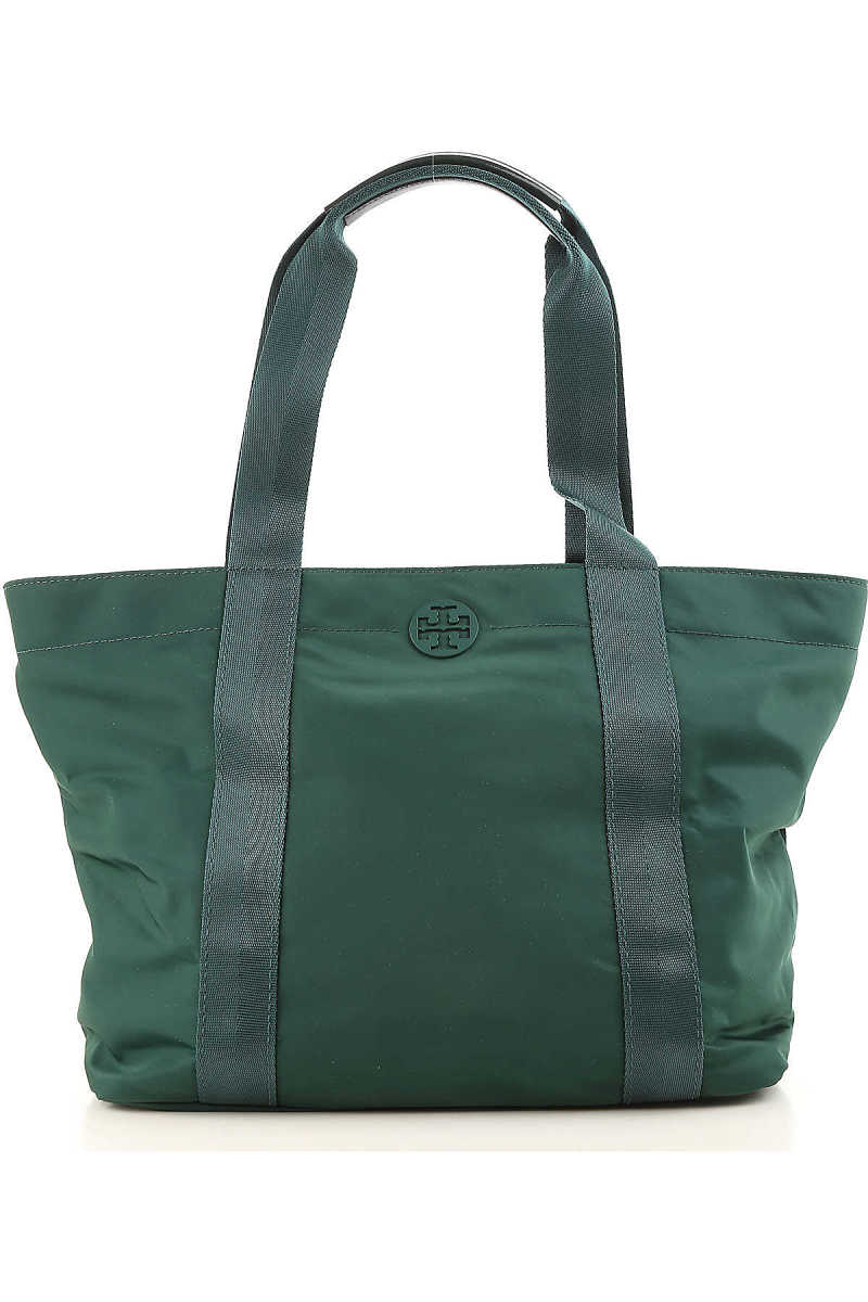 Tory Burch Tote Bag On Sale in Outlet Dark Green DK - GOOFASH - Womens BAGS