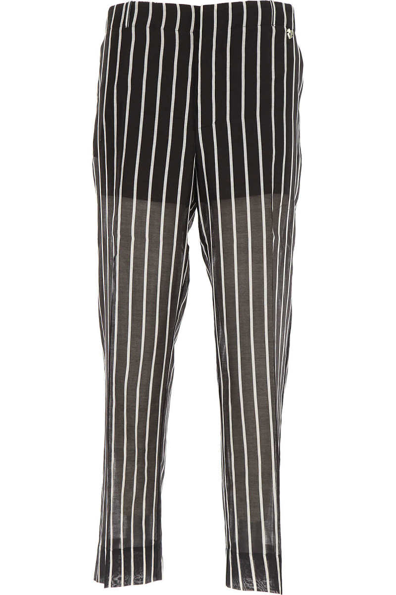 Twin Set by Simona Barbieri Pants for Women On Sale in Outlet Black DK - GOOFASH - Womens TROUSERS
