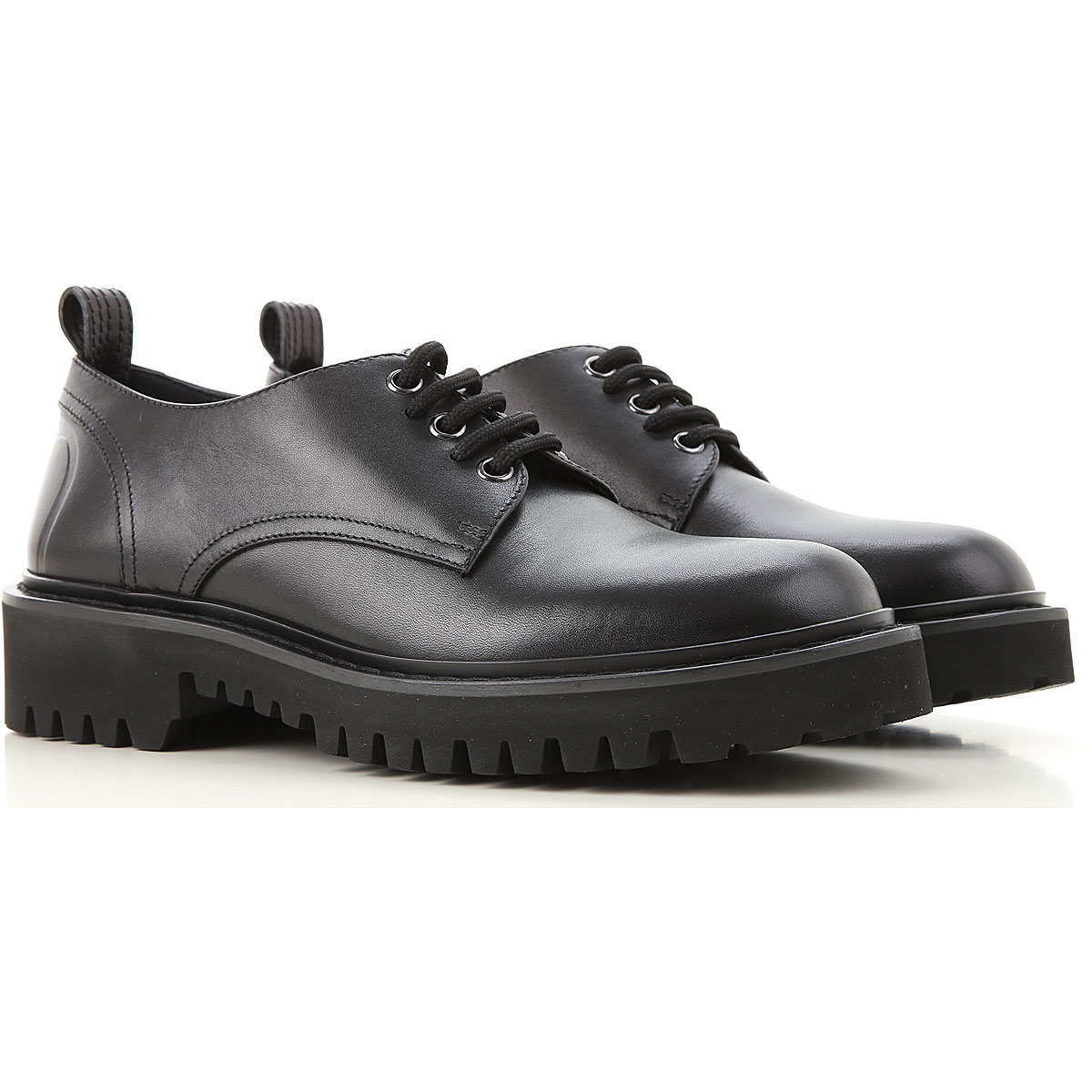 Valentino Garavani Lace Up Shoes for Men Oxfords Derbies and Brogues DK - GOOFASH - Womens LEATHER SHOES