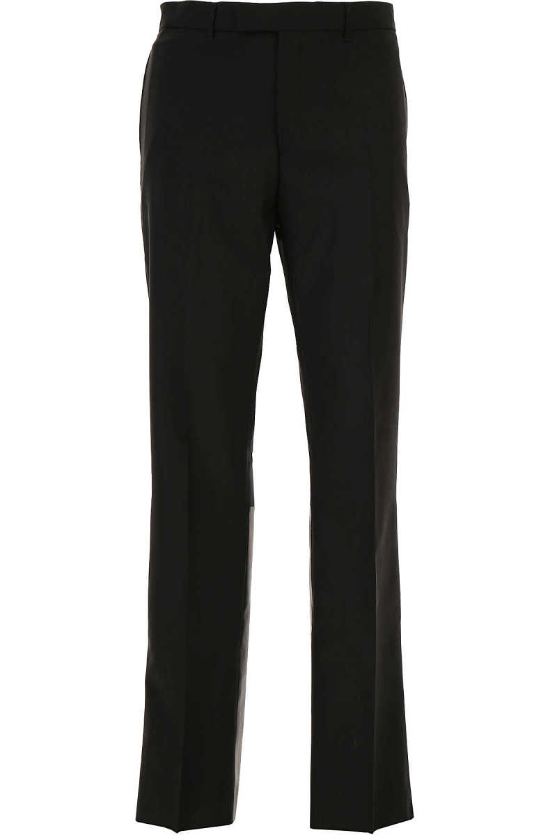 Valentino Pants for Men On Sale in Outlet Black DK - GOOFASH - Mens TROUSERS