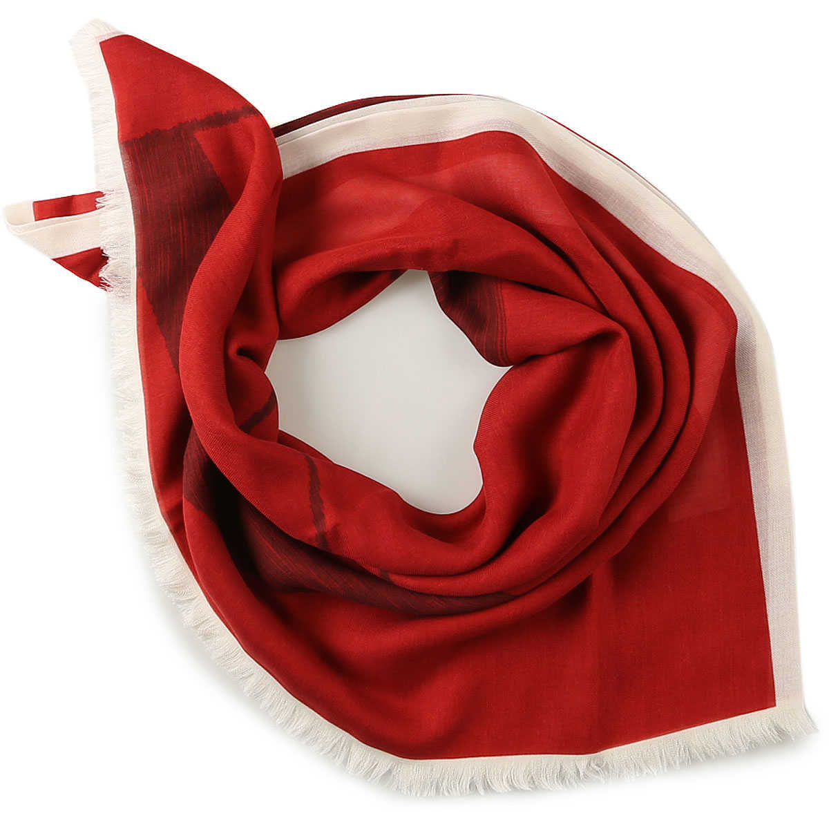 Valentino Scarf for Men On Sale in Outlet Red DK - GOOFASH - Mens SCARFS
