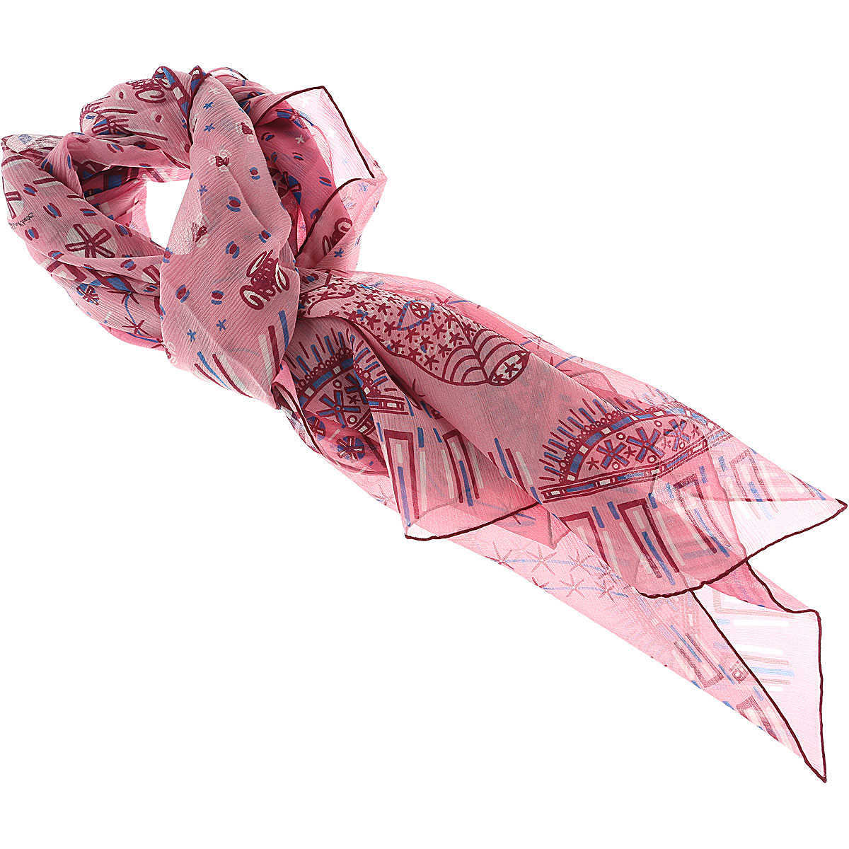 Valentino Scarf for Women On Sale Pink DK - GOOFASH - Womens SCARFS