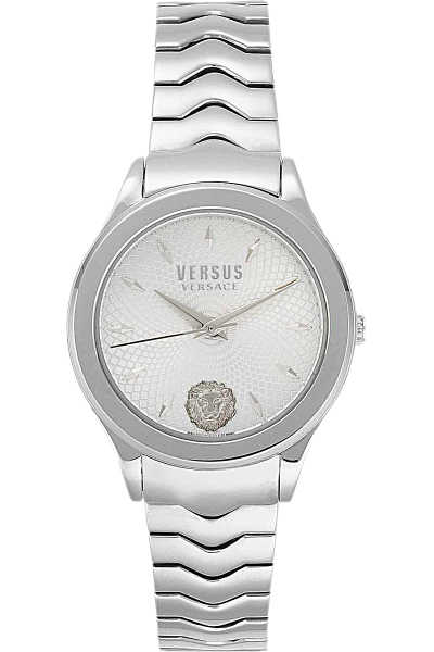 Versace Watch for Women On Sale Silver DK - GOOFASH - Womens WATCHES