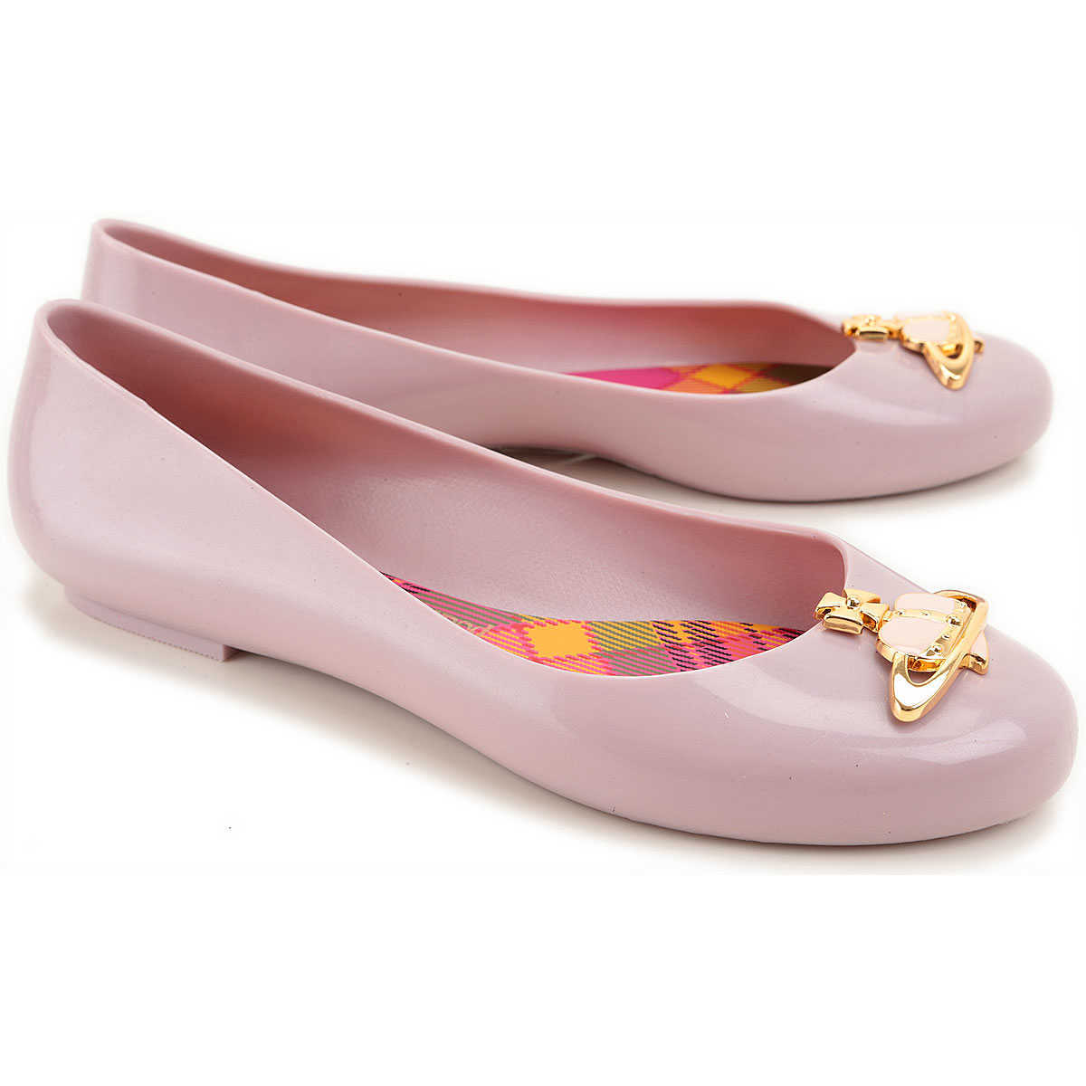 Vivienne Westwood Ballet Flats Ballerina Shoes for Women Anglomania + Melissa DK - GOOFASH - Womens BALLERINAS