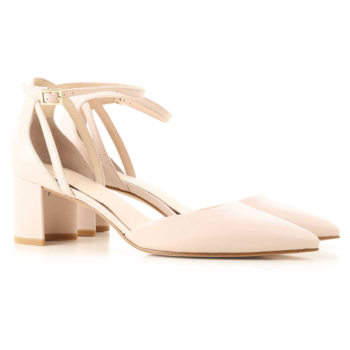 What For Pumps & High Heels for Women On Sale Nude DK - GOOFASH - Womens HIGH HEELS