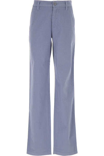 Woolrich Kids Pants for Boys On Sale in Outlet Mid Blue DK - GOOFASH - Mens TROUSERS