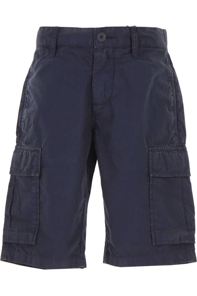 Woolrich Kids Shorts for Boys On Sale navy DK - GOOFASH - Mens SHORTS