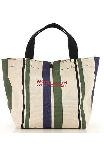 Woolrich Top Handle Handbag On Sale in Outlet Ivory DK - GOOFASH - Womens TOPS