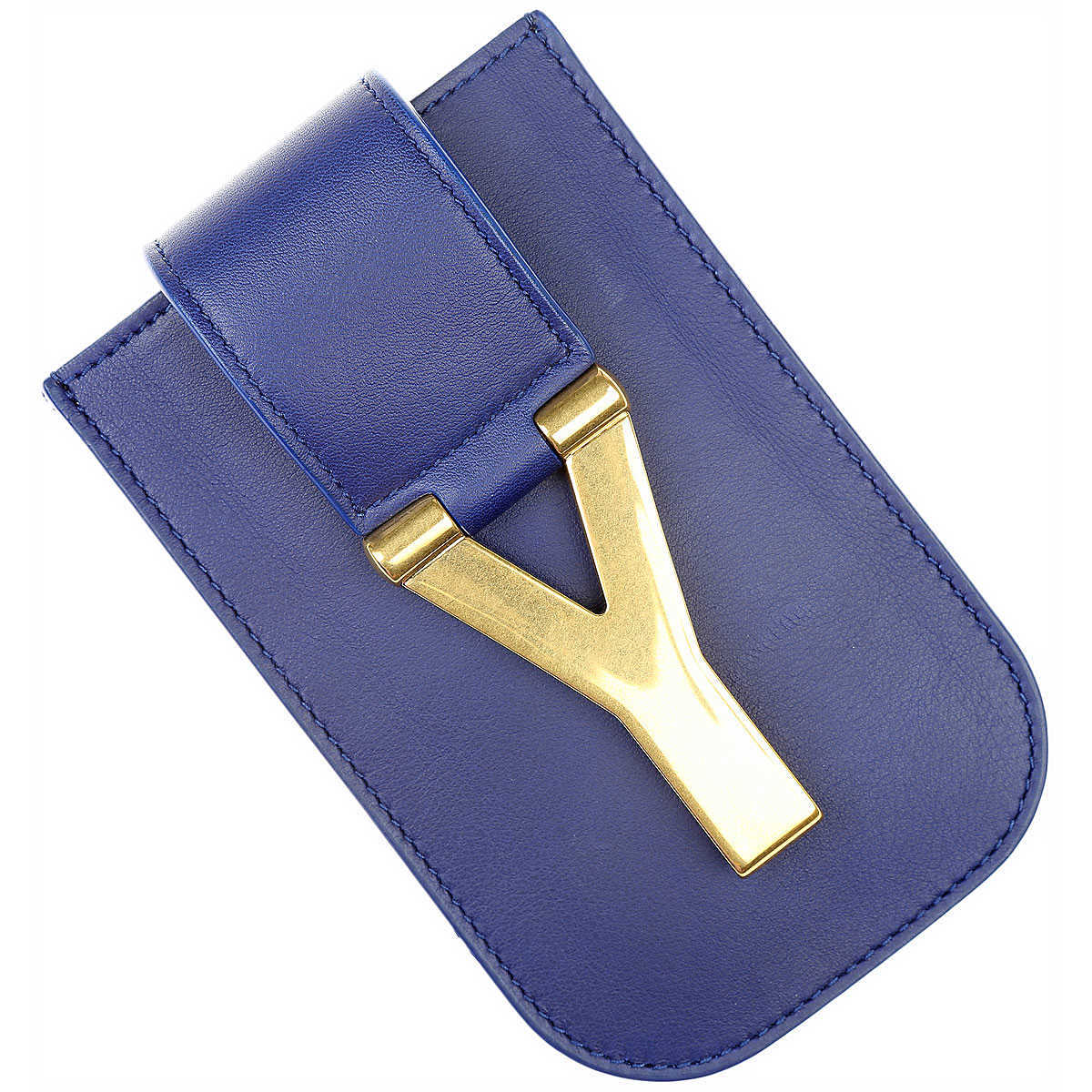 Yves Saint Laurent Womens Wallets On Sale in Outlet Royal Blue DK - GOOFASH - Womens WALLETS