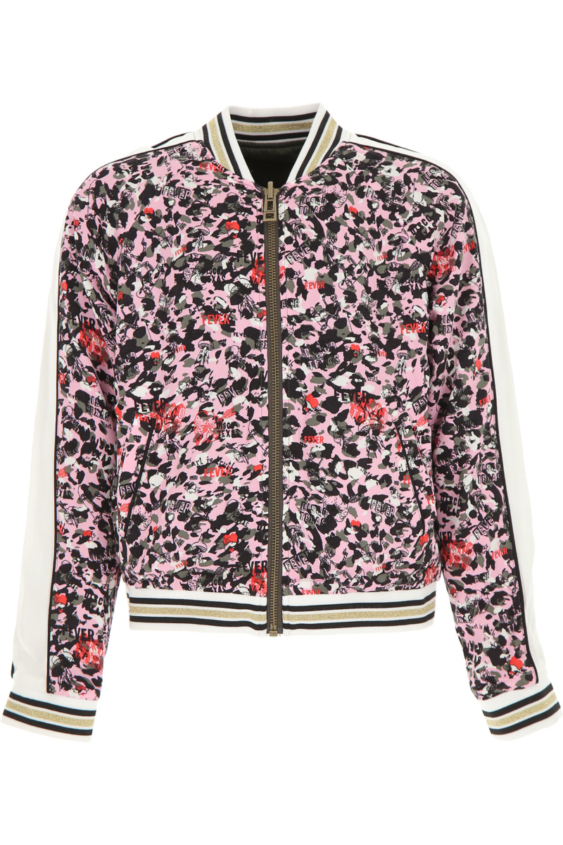 Zadig & Voltaire Kids Jacket for Girls On Sale Pink DK - GOOFASH - Womens JACKETS