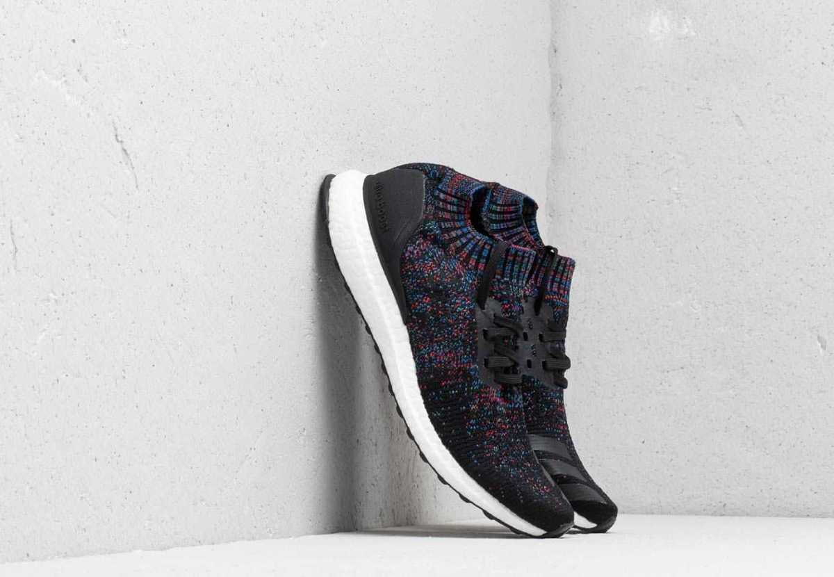 adidas Ultraboost Uncaged Core Black/ Active Red/ Blue USA - GOOFASH -