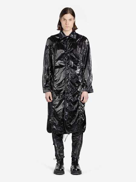 1017 Alyx 9 Sm Coats Black USA - GOOFASH - Mens COATS