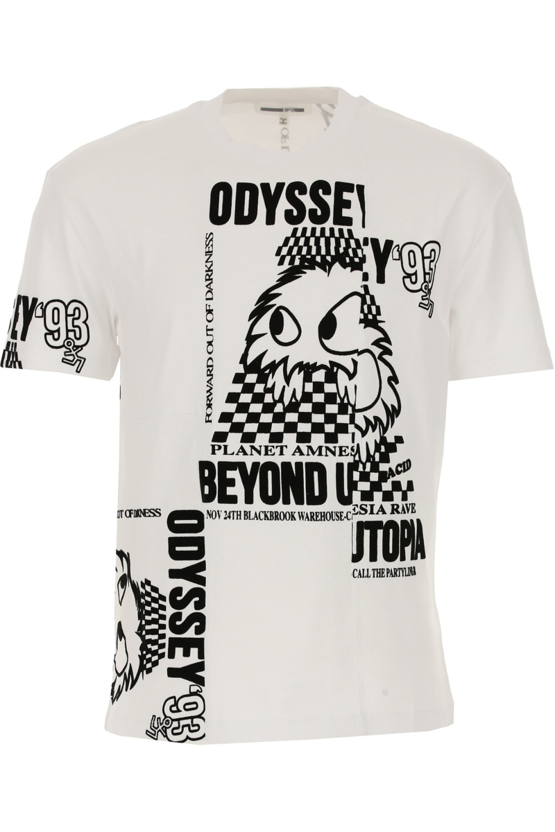 Alexander McQueen McQ T-Shirt for Men in Outlet Odyssey 93 Canada - GOOFASH - Mens T-SHIRTS