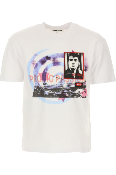 Alexander McQueen McQ T-Shirt for Men in Outlet White Canada - GOOFASH - Mens T-SHIRTS