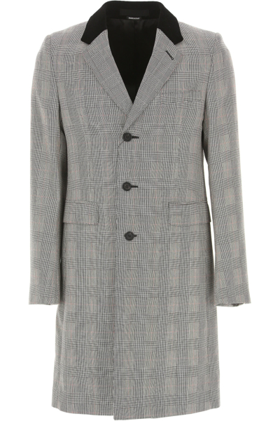 Alexander McQueen Men's Coat in Outlet Ivory Canada - GOOFASH - Mens COATS