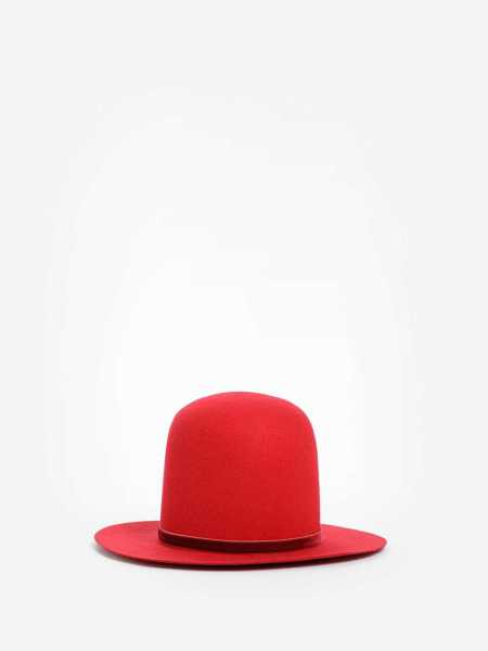 Ann Demeulemeester Hats Red USA - GOOFASH - Womens HATS