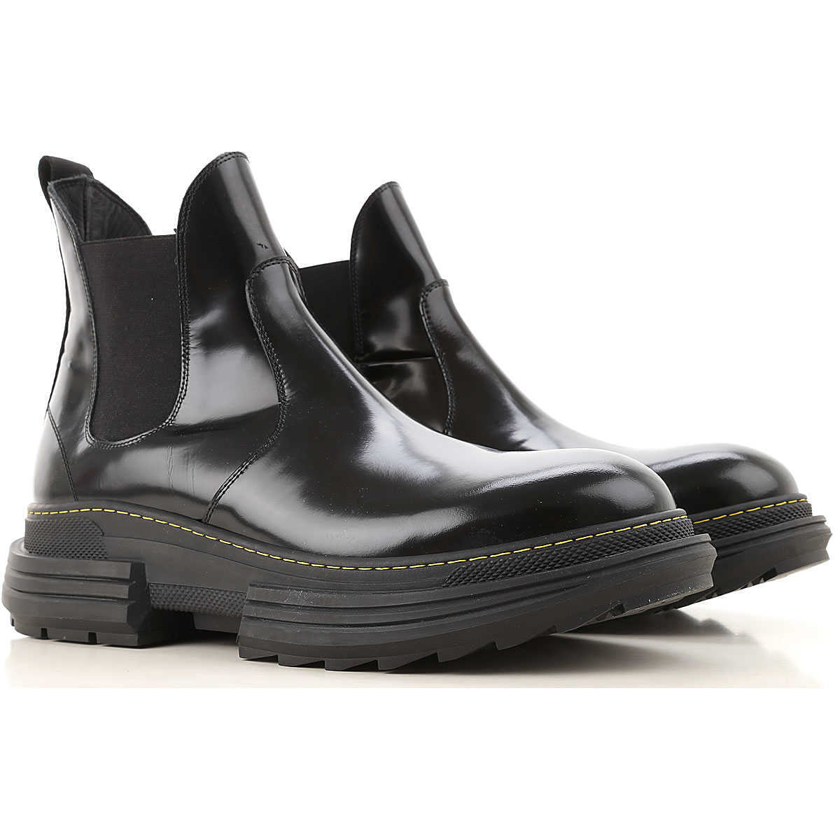Beyond Chelsea Boots for Men Black Canada - GOOFASH - Mens BOOTS