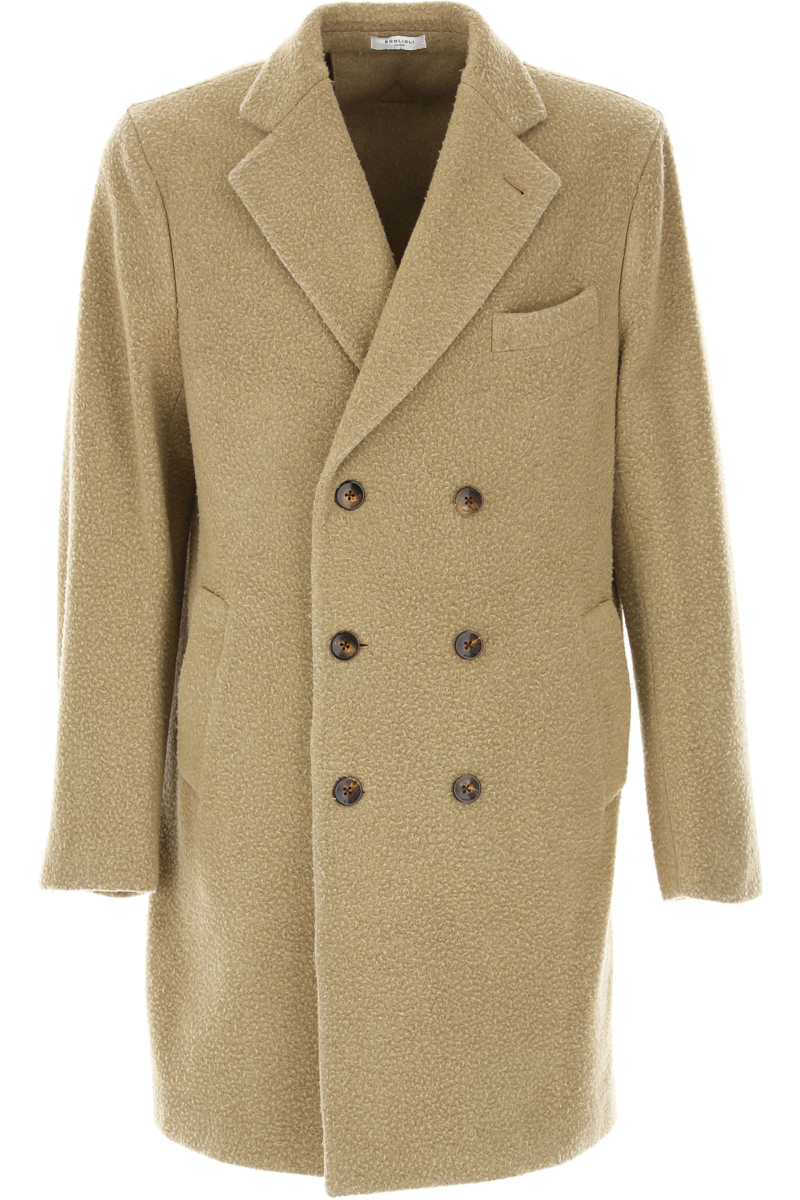 Boglioli Men's Coat Camel Canada - GOOFASH - Mens COATS