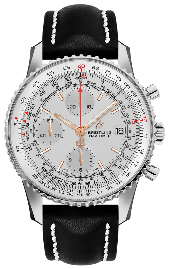 Breitling Navitimer Chronograph 41 Automatic Men's Watch A13324121G1X4 Silver USA - GOOFASH - Mens WATCHES