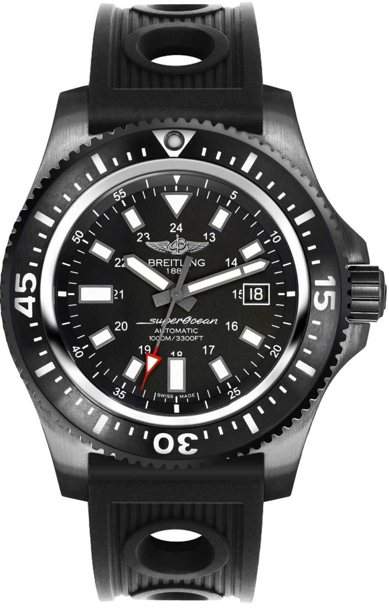 Breitling Superocean 44 Special Calibre 17 Men's Watch M1739313/BE92-200S Black USA - GOOFASH - Mens WATCHES