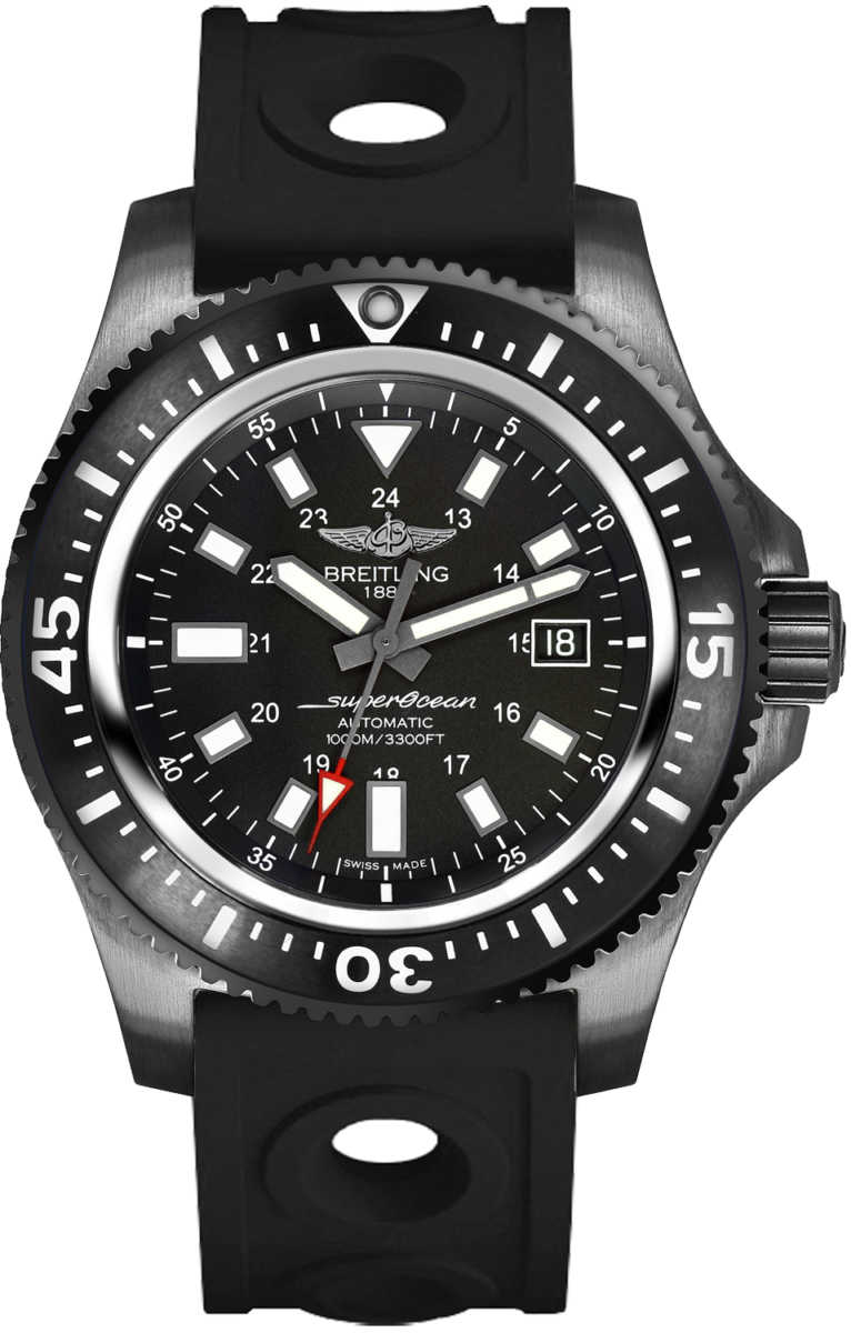 Breitling Superocean 44 Special Calibre 17 Men's Watch Save M1739313/BE92-227S Black USA - GOOFASH - Mens WATCHES