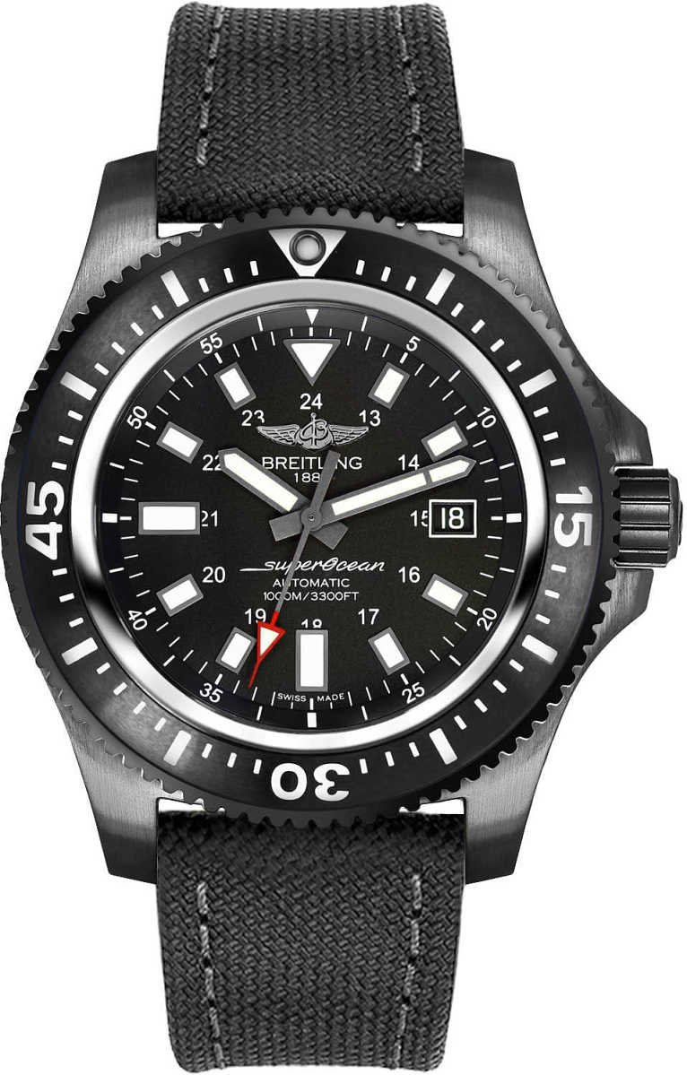 Breitling Superocean 44 Special Men's Watch M1739313/BE92-109W Black USA - GOOFASH - Mens WATCHES