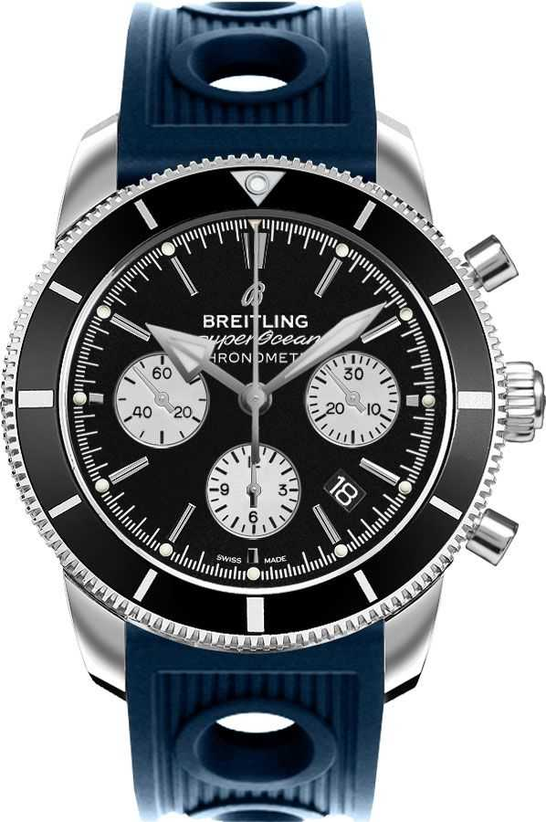 Breitling Superocean Heritage Automatic Men's Watch AB016212/BG82-211S Black USA - GOOFASH - Mens WATCHES