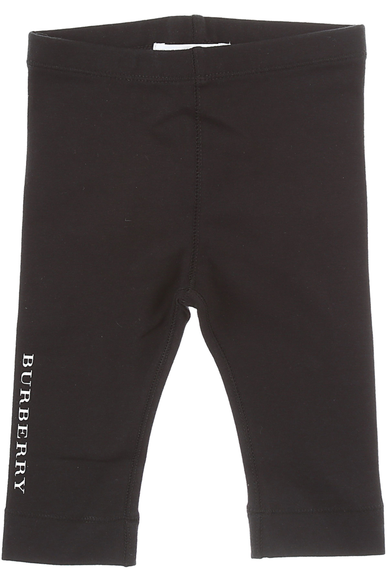 Burberry Baby Pants for Girls Black Canada - GOOFASH - Womens TROUSERS