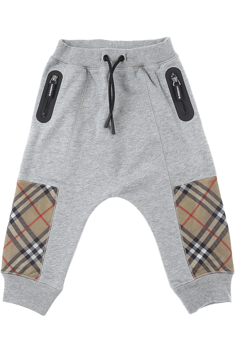 Burberry Baby Sweatpants for Boys Grey Canada - GOOFASH - Mens TROUSERS