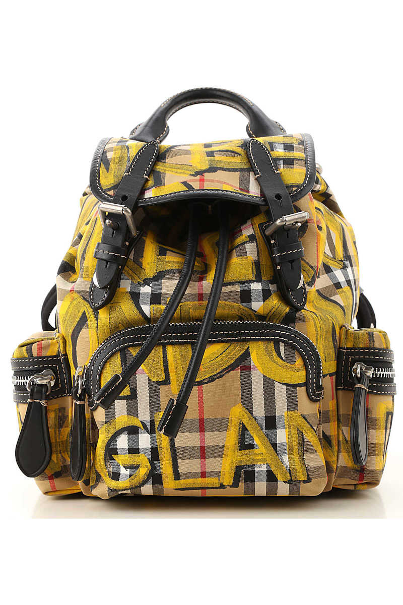 Burberry Backpack for Women Yellow Canada - GOOFASH - Womens BAGS