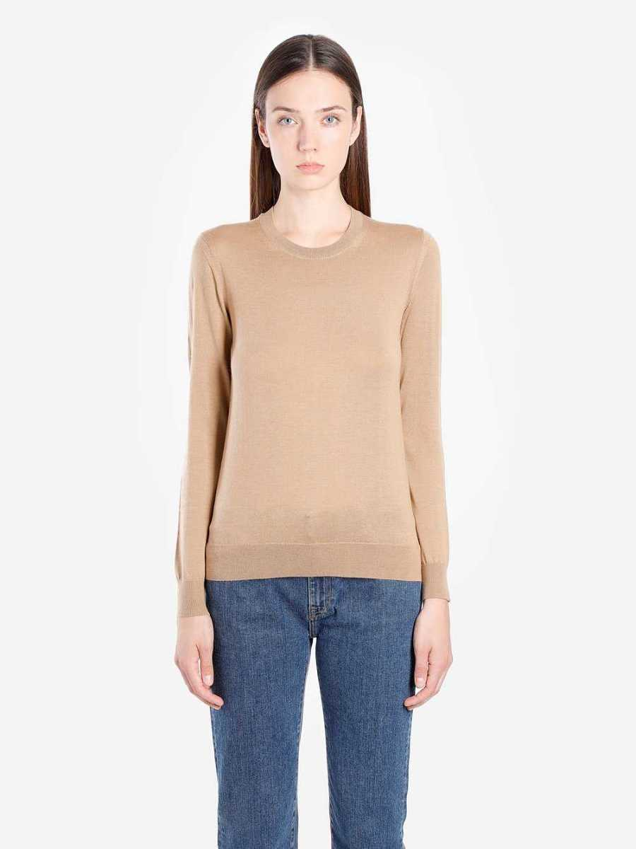Burberry Knitwear Brown USA - GOOFASH - Womens KNITWEAR