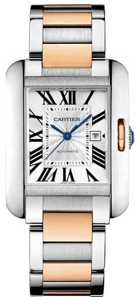 Cartier Tank Anglaise Luxury Watch W5310007 Silver USA - GOOFASH - Womens WATCHES