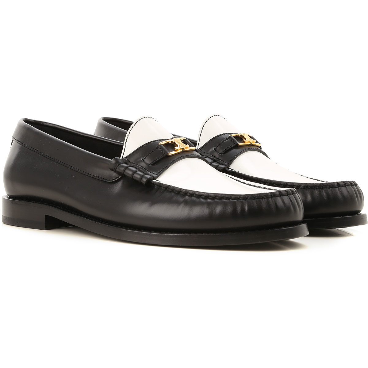 Celine Loafers for Women Black Canada - GOOFASH - Womens FLAT SHOES