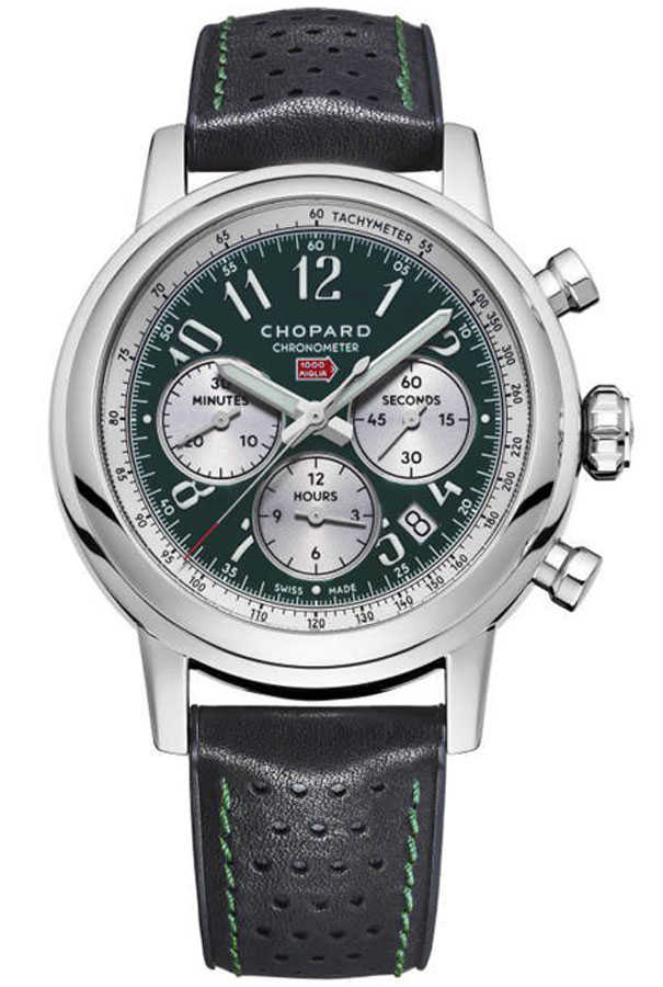 Chopard Mille Miglia Limited Edition Green Dial Men's Sport Watch 168589-3009 Green USA - GOOFASH - Mens WATCHES